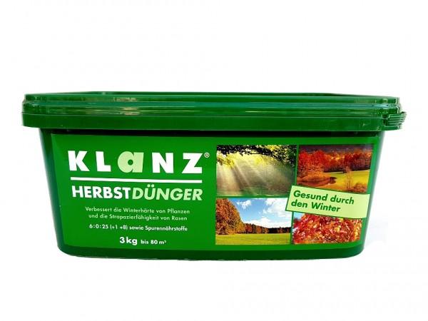 Klanz® Herbstdünger 3kg