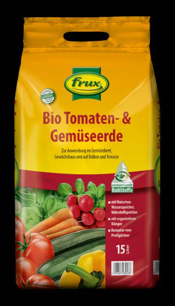 Frux Bio-Line-Tomaten- & Gemüseerde - 15 Liter