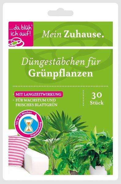 da blüh ich auf Düngestäbchen - Für Grünpflanzen