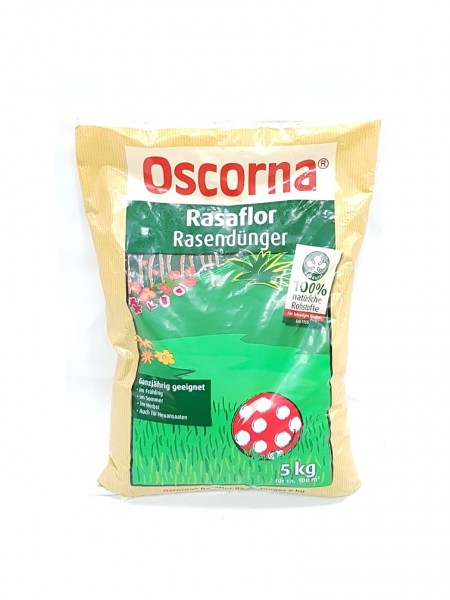 Oscorna-Rasaflor Rasendünger - 5 kg Organischer NPK-Dünger