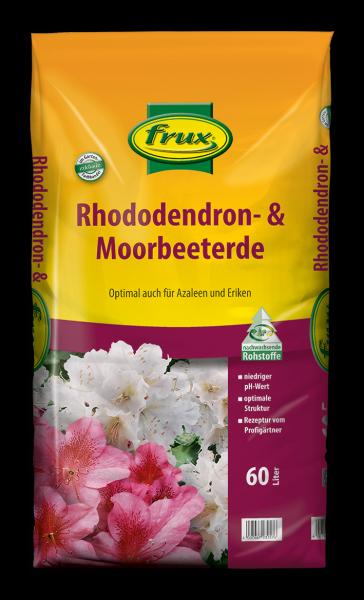 frux Rhododenron- und Moorbeeterde - 60 Liter