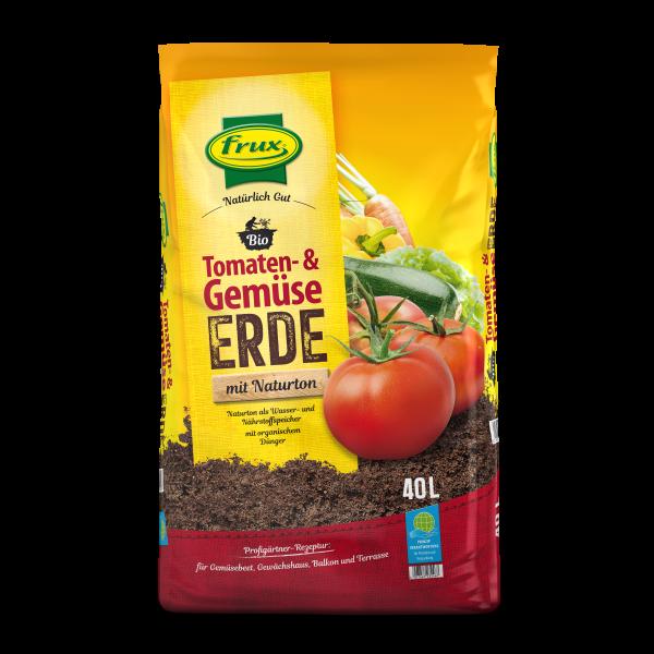 Frux Bio-Line-Tomaten- & Gemüseerde - 40 Liter