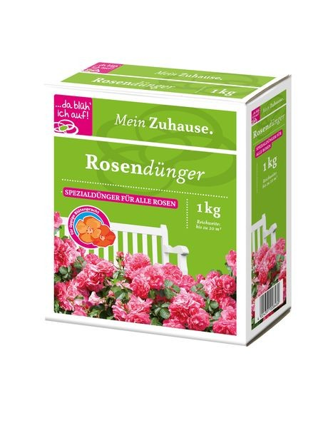 da blüh ich auf Rosendünger - 1 kg