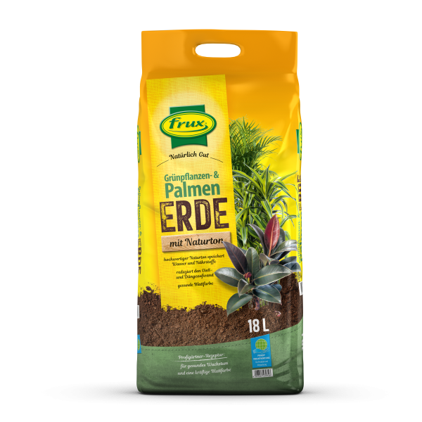 frux Grünpflanzen- & Palmenerde - 18 Liter