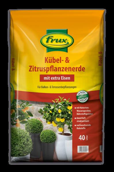 frux Kübel- u. Zitruspflanzenerde - 40 Liter