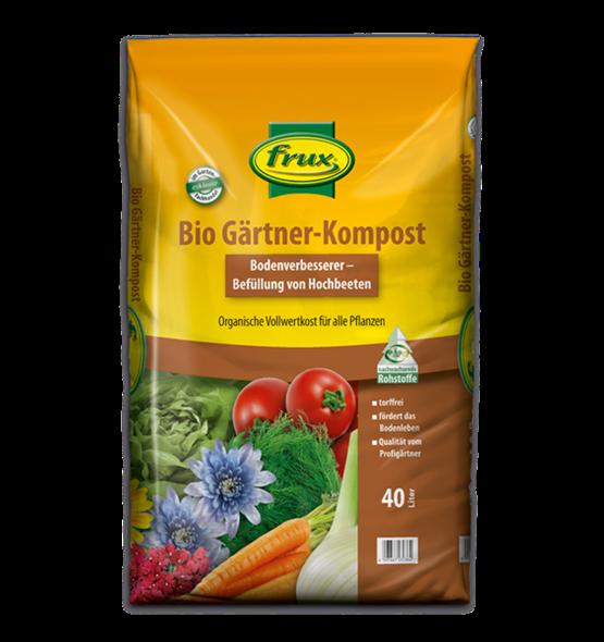 frux Bio-Gärtnerkompost - 40 Liter