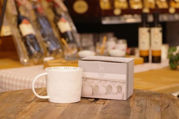 räder Breakfast Tasse - Guten Tag, H:8,5cm Ø:9,5cm