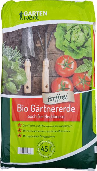 Gartenwerk Bio-Gärtnererde - 45 Liter