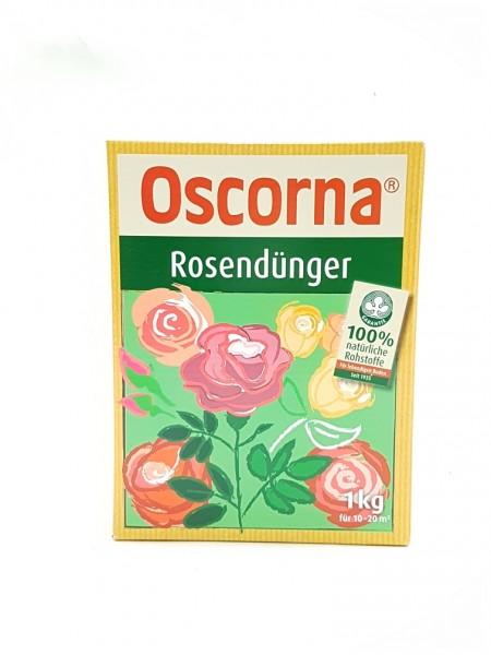 Oscorna-Rosendünger - 1 kg Organischer NPK-Dünger