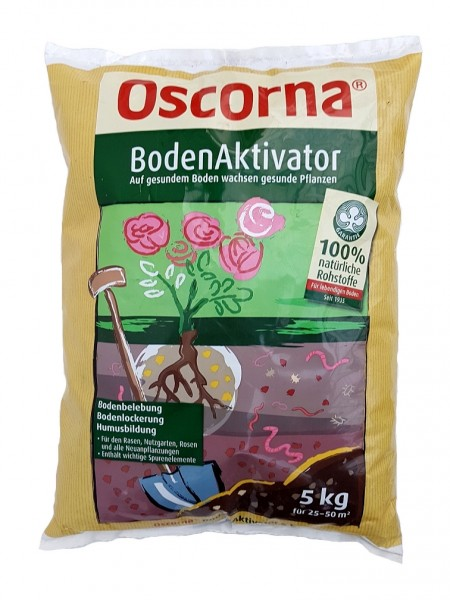 Oscorna-Boden-Aktivator - 5 kg Bodenhilfsstoff
