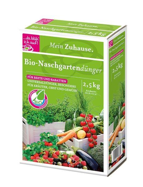 da blüh ich auf Bio Naschgartendünger - 2,5kg