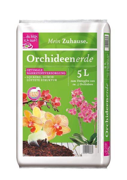 da blüh ich auf Orchideenerde - 5 Liter