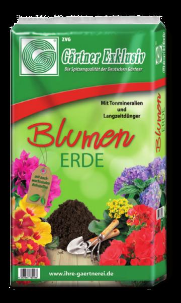 ZVG Gärtner Exklusiv Blumenerde - 45 Liter