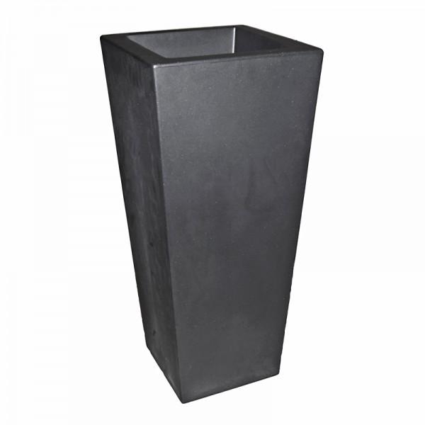 euro3plast Vase Kiam - 40x40x90cm 20 Ltr. Nero