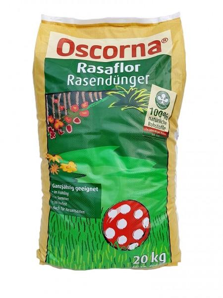 Oscorna-Rasaflor Rasendünger - 20 kg Organischer NPK-Dünger