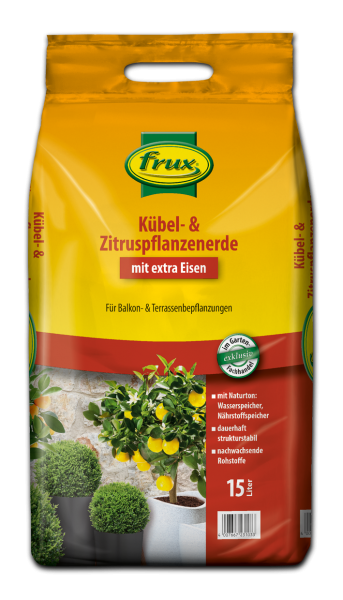 frux Kübel- u. Zitruspflanzenerde - 15 Liter