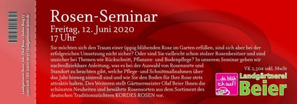 Rosen-Seminar 2020 - Ticket